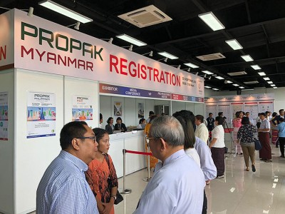 Picture from ProPak Myanmar 2019